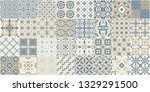 seamless pattern with... | Shutterstock .eps vector #1329291500