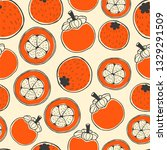 seamless nature pattern with... | Shutterstock .eps vector #1329291509