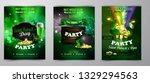 vector st. patrick s day poster ... | Shutterstock .eps vector #1329294563