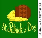 st. patrick's day  vector... | Shutterstock .eps vector #1329357143