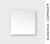 vector white realistic square... | Shutterstock .eps vector #1329461879