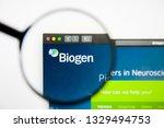 los angeles  california  usa  ... | Shutterstock . vector #1329494753