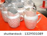 jar aluminium dish | Shutterstock . vector #1329501089