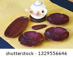 japanese traditional crafts.... | Shutterstock . vector #1329556646