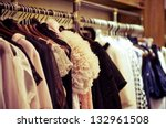 choice of fashion clothes of... | Shutterstock . vector #132961508