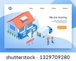 removal service isometric... | Shutterstock .eps vector #1329709280
