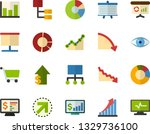 color flat icon set  ...   Shutterstock .eps vector #1329736100