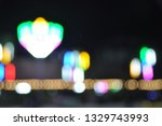 several colors  bokeh... | Shutterstock . vector #1329743993