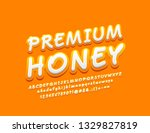 vector stylish sign premium... | Shutterstock .eps vector #1329827819