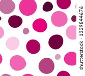 seamless pattern with pink... | Shutterstock .eps vector #1329844676
