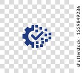 digital transformation icon.... | Shutterstock .eps vector #1329849236