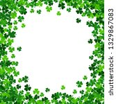 illustration with green... | Shutterstock . vector #1329867083