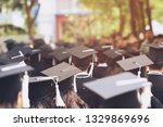 group of graduates during... | Shutterstock . vector #1329869696