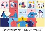 vector illustrations of the... | Shutterstock .eps vector #1329879689