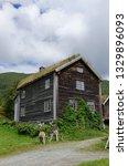 Norwegian Farmhouse With A Sod...