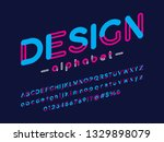 vector of stylized modern... | Shutterstock .eps vector #1329898079