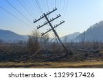 Falling Electric Pole In The...