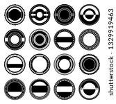 a vintage badge design set. | Shutterstock .eps vector #1329919463