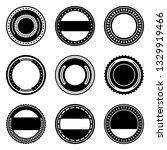a vintage badge design set. | Shutterstock .eps vector #1329919466