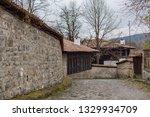 rural landscale  old typical... | Shutterstock . vector #1329934709