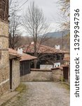 rural landscale  old typical... | Shutterstock . vector #1329934736
