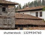 rural landscale  abandoned old... | Shutterstock . vector #1329934760
