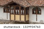 rural landscale  old typical... | Shutterstock . vector #1329934763