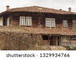 rural landscale  abandoned old... | Shutterstock . vector #1329934766