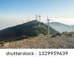 windmill mountain power plant   Shutterstock . vector #1329959639