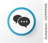 comment icon symbol. premium...   Shutterstock .eps vector #1329959930