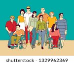 group people community with...   Shutterstock .eps vector #1329962369