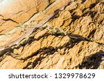 rainbow mountains and stripy... | Shutterstock . vector #1329978629
