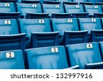 Seating Rows In A Stadium With...