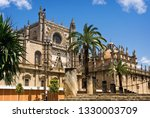 seville cathedral. element of... | Shutterstock . vector #1330003709