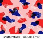 creative doodle art header with ... | Shutterstock .eps vector #1330011740