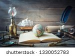 exploration and nautical theme... | Shutterstock . vector #1330052783