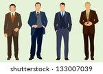 business men   Shutterstock .eps vector #133007039