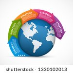abstract options infographics... | Shutterstock .eps vector #1330102013