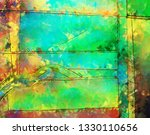 modern art. colorful... | Shutterstock . vector #1330110656