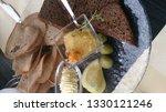 pike caviar served with butter... | Shutterstock . vector #1330121246