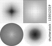dot pattern white | Shutterstock .eps vector #133012319