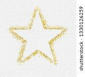 glitter star isolated...   Shutterstock .eps vector #1330126259