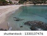 fetovaia beach in wintertime ...   Shutterstock . vector #1330137476