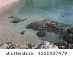 fetovaia beach in wintertime ...   Shutterstock . vector #1330137479