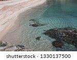 fetovaia beach in wintertime ...   Shutterstock . vector #1330137500