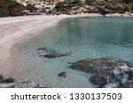 fetovaia beach in wintertime ...   Shutterstock . vector #1330137503
