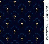 ditzy floral motif peacock... | Shutterstock .eps vector #1330148453