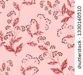 seamless pattern with hand... | Shutterstock . vector #1330160510