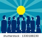 business people looking for... | Shutterstock .eps vector #1330188230
