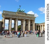 berlin  germany   august 27 ... | Shutterstock . vector #1330223636